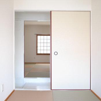 【2階和室3帖】狭めなので、書斎や趣味のお部屋にいいかもしれません。