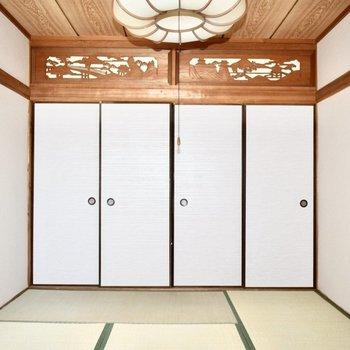 和室】大きい布団を敷いてゴロゴロしたい!