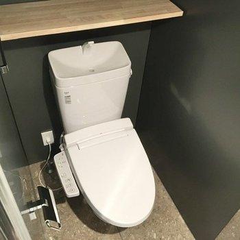同スペースにトイレもあります。