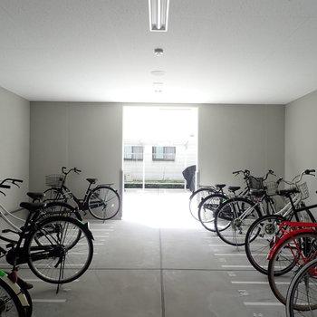 共用部】駐輪場があります!