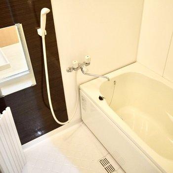 お風呂も綺麗にリノベーションされていました。