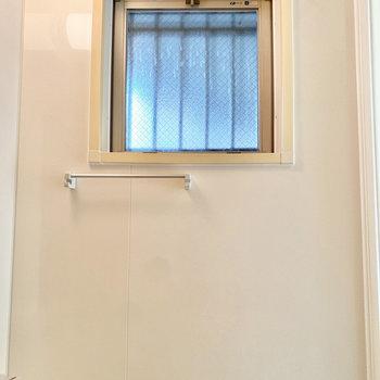 小窓も付いているので、ちょっとした換気もお任せあれ。