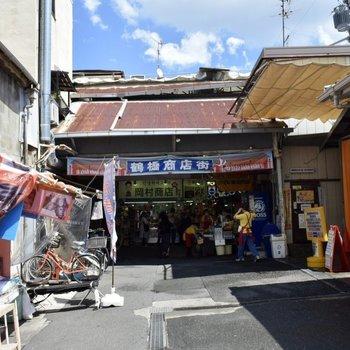 鶴橋商店街を通って駅へ。