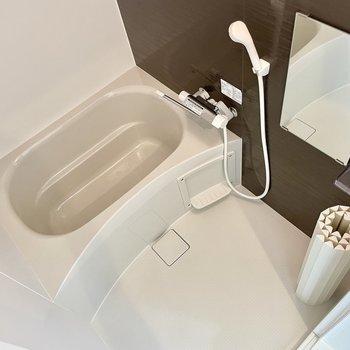この広さなら、バスルームも満喫できそう。