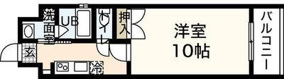サムティ舟入(旧ウイング舟入川口町)の間取り