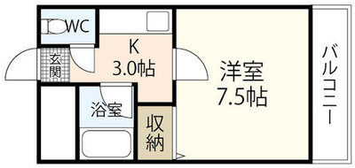 KAWABE340ビルの間取り