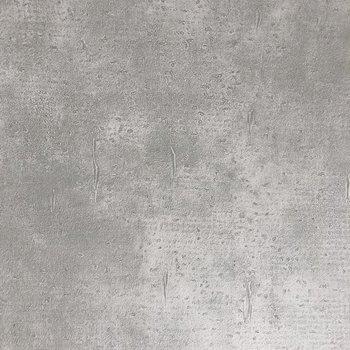 壁にはコンクリート風のクロスが施されています。