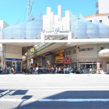 【周辺環境】近くの商店街まですぐ!レトロな喫茶店や、安くて新鮮なスーパーがありますよ〜。
