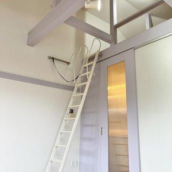 天井がグーっと高い!ロフトへ行きましょう~。