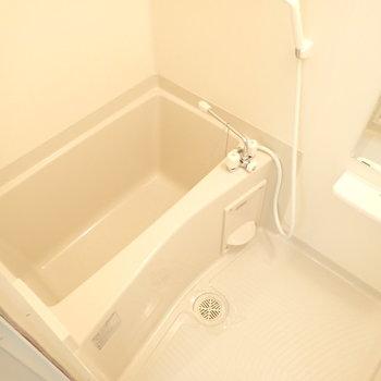 お風呂は普通。(※写真は2階同間取り別部屋のものです)