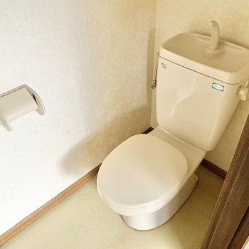 個室のトイレです。
