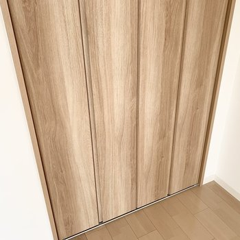 【洋4.5】取っ手がなく、フラットなデザインがスタイリッシュですね◎ (※写真は6階の同間取り角部屋のものです)