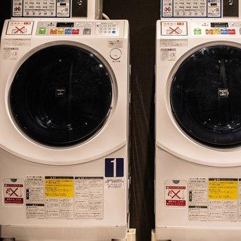 【共用部】洗濯機は1回500円でご利用いただけます。