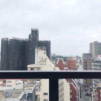 この景色!今泉・薬院の街を一望!(※写真は11階の別部屋からのものです)