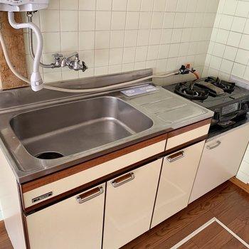 【DK】大きめのシンクは洗い物がしやすいです。