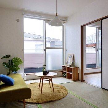 【和室】柔らかな雰囲気の空間です。