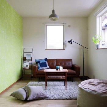【洋室】もちろん書斎やリラックススペースにするのもアリ。
