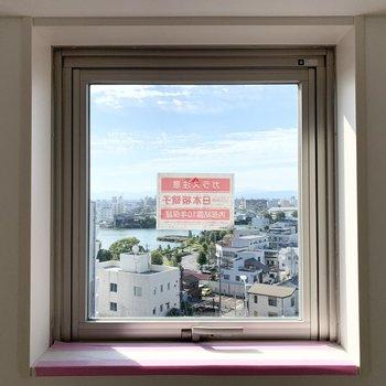 【洋4.5】窓の外も抜けのある景色◎