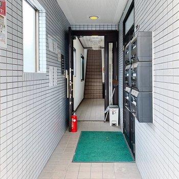 入り口を入ってすぐ見えるお部屋です。