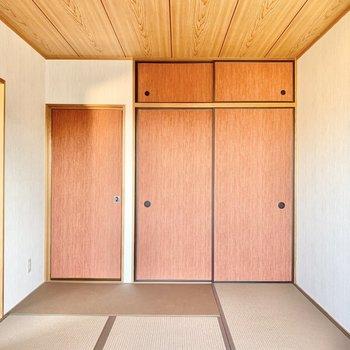 【和室】和室からも廊下へ出られます。
