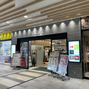 駅ナカもお店が豊富でした。