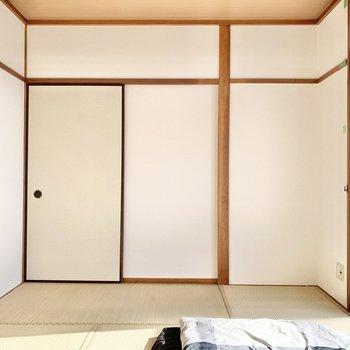 【和室①】寝室にどうぞ。