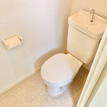 個室トイレです。