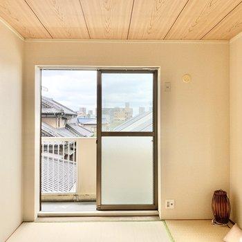 【和室】寝室や書斎として使えそう!※家具はサンプルです