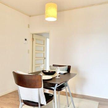【DK】廊下へ出て次のお部屋へ。※家具はサンプルです