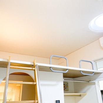 天井が高く、開放感がある空間