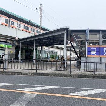 JR武蔵野線と、