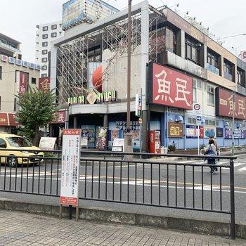 東川口駅周辺は飲食店がちらほら。