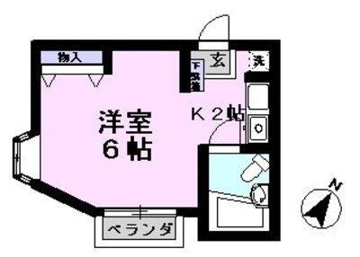 ピュアハウス北松戸の間取り