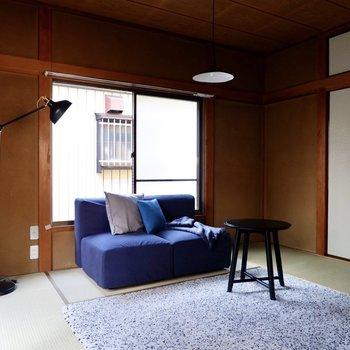 【和室6帖】ゆったりとしたリビングスペースに。