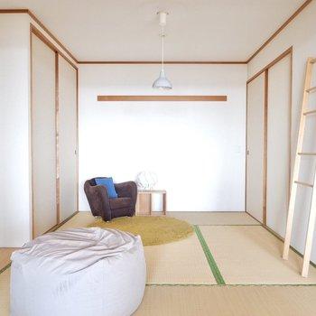【和室】子供部屋や客間として良さそうですね。