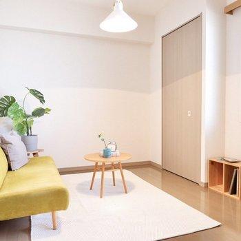 【洋室】こちらは寝室や書斎利用におすすめ。