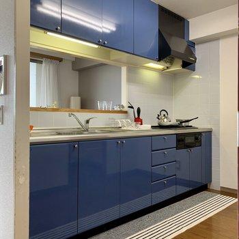 【LDK】ブルーが爽やか。※写真の家具・雑貨はサンプルのものです