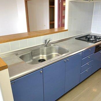 【LDK】シンクも大きくて洗い物がしやすいです。
