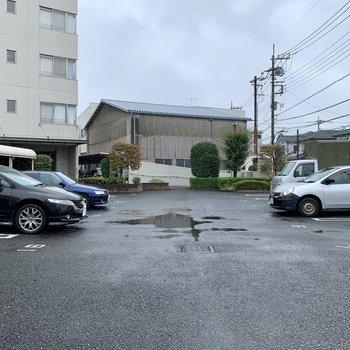 駐車場もあってお出かけの幅が広がりますね。