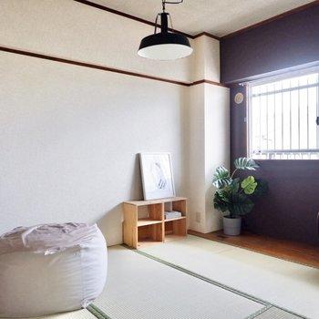 【和室】こちらは寝室にいかがでしょう。