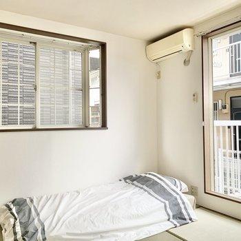 【和室】出窓に植物を飾るのもいいな〜※家具はサンプルになります