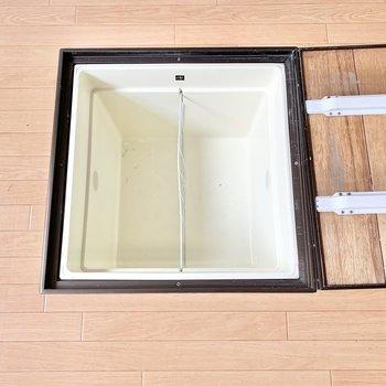 【DK】便利な床下収納も。漬物作ったりしたいな〜