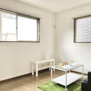 【洋室】寝室や趣味部屋にいかがでしょう?※家具はサンプルになります