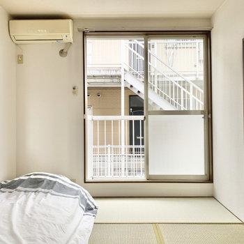 【和室】お布団派のあなたはこちらを寝室に。※家具はサンプルになります