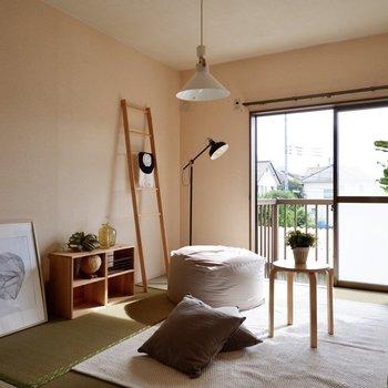 【和室約6帖】お隣には同等のスペースを有した和室があります。