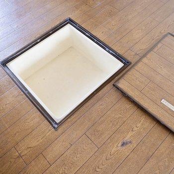 【DK】足元の床下収納には保存食等を◎