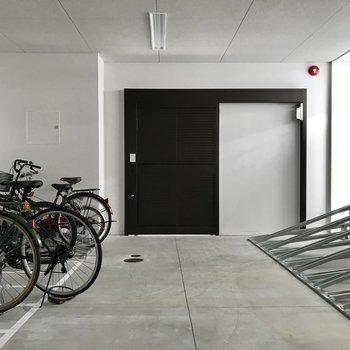 駐輪場もオートロック内にあるので安心です