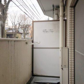 バルコニーも洗濯物しっかり干せる広さがありました。