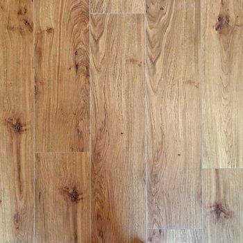 木目のきれいな床。ナチュラルな家具が似合いそう!