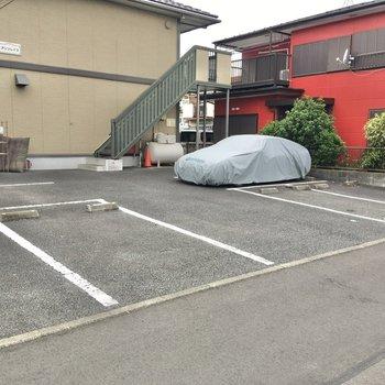 駐車場も無料で利用可能。